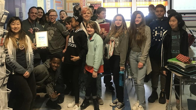 Ryan Walters, special education teacher, Blackman Middle School | Educator of the Month, Ryan Walters, Blackman Middle School, Rutherford County Schools, Murfreesboro City Schools