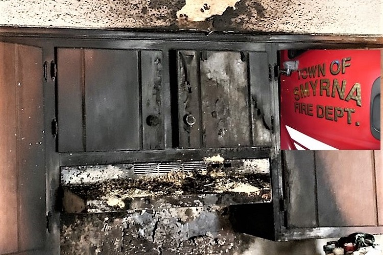 4 Displaced After Kitchen Fire In Smyrna, No Injuries!