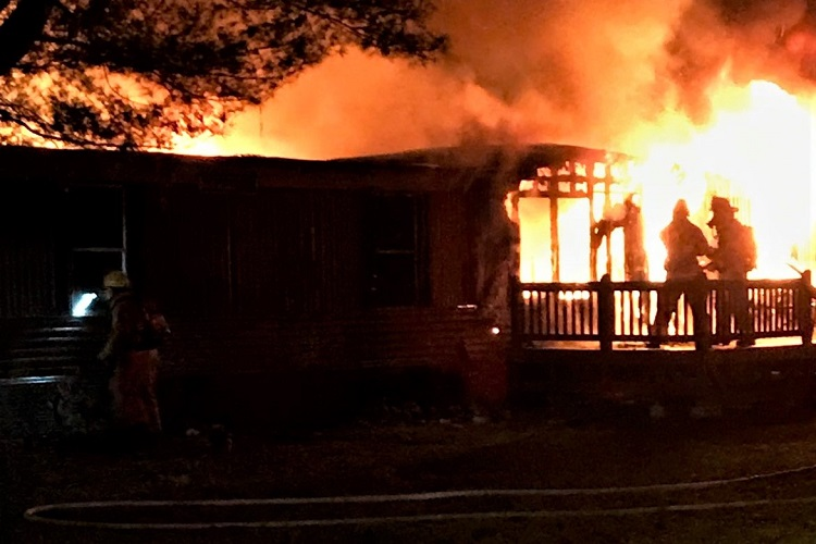 Wednesday AM Home Fire Total Loss