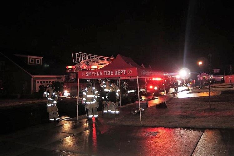 Early Tuesday Blaze On Tonalist Way In Smyrna