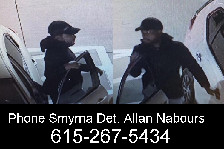 Smyrna Police Need Help In Identifying This Man