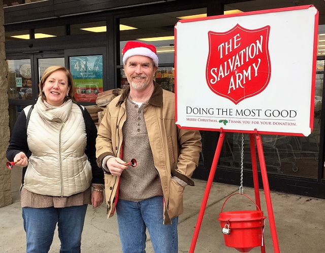 Listen for Salvation Army Bell Ringers...And GIVE!