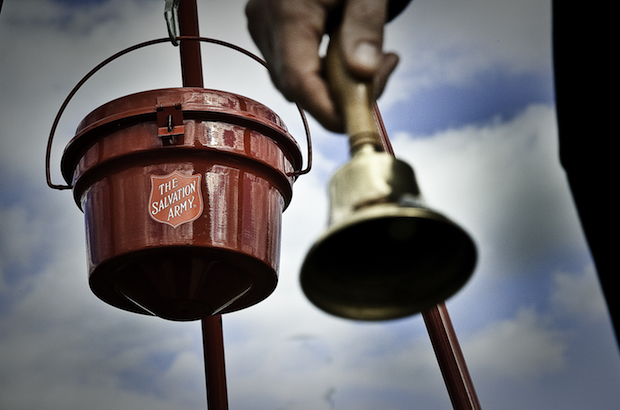 Salvation Army Seeks Paid & Volunteer Bell Ringers