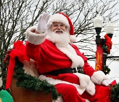 Bill Mears, Christmas Parade's Santa for Many Years