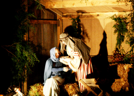 Living Nativity at Calvary Baptist Church