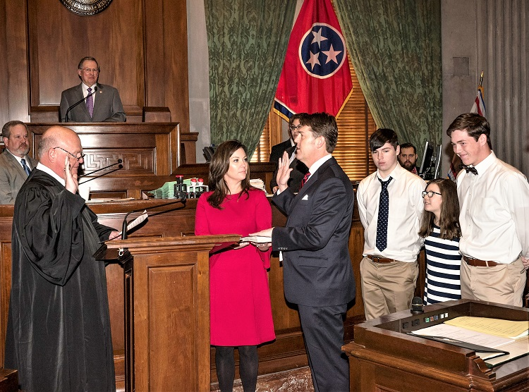 State Senator Shane Reeves Sworn Into Office