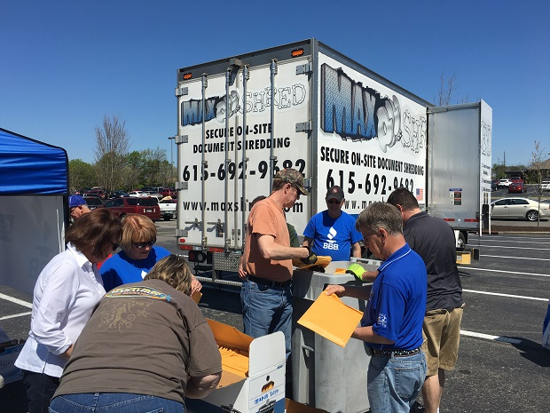 Another Successful BBB Shred Event