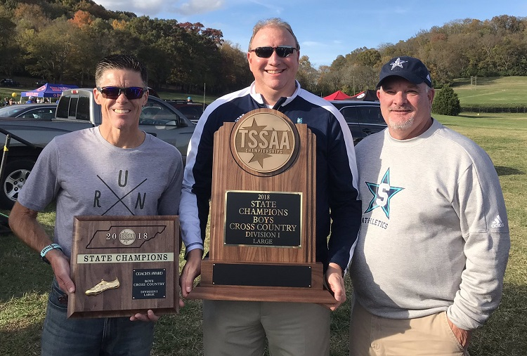 Siegel Boys Win Cross Country State Championship - AGAIN