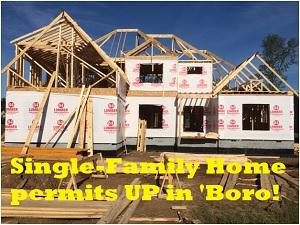 'Boro Single-Family Home Permits Increase Again In 2016