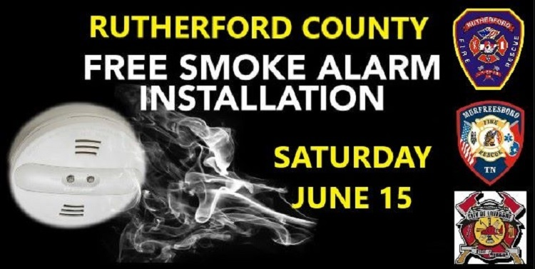 Firefighters Installing FREE Smoke Detectors Saturday