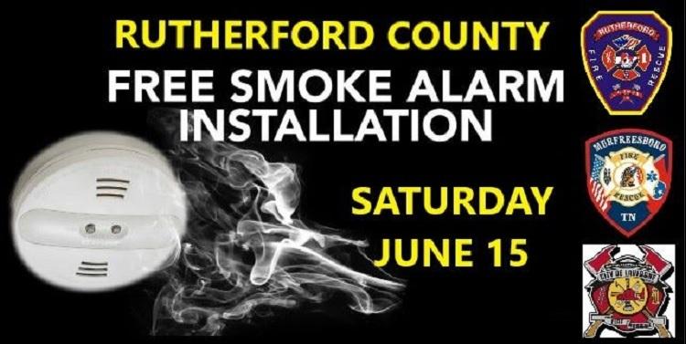 Firefighters Installing FREE Smoke Detectors Saturday