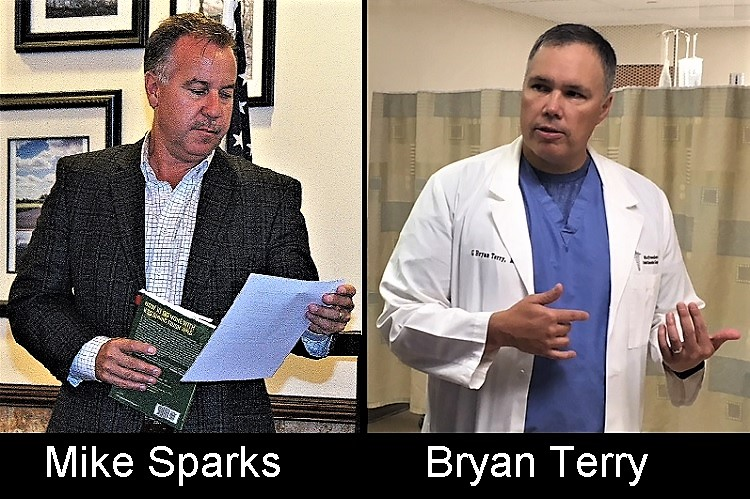 Representatives Sparks and Terry Honored by ACU | Mike Sparks, Bryan Terry, American Conservative Union, The Award for Conservative Excellence, WGNS