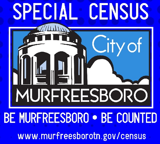 Murfreesboro Is Conducting SPECIAL CENSUS!