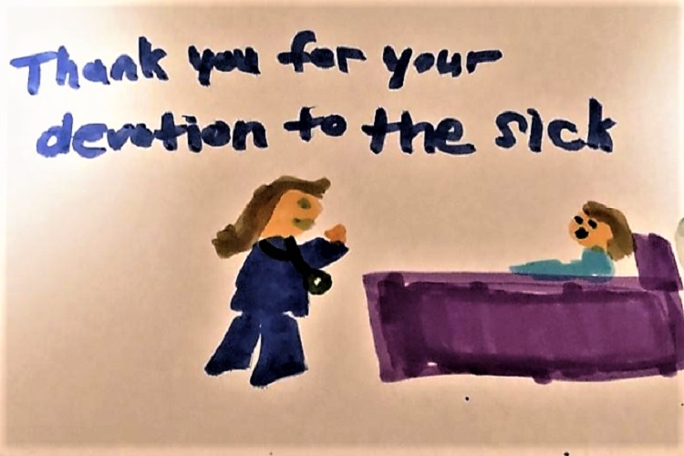 The public says THANK YOU to the staff at St. Thomas Rutherford Hospital during these frightening days of COVID-19.
