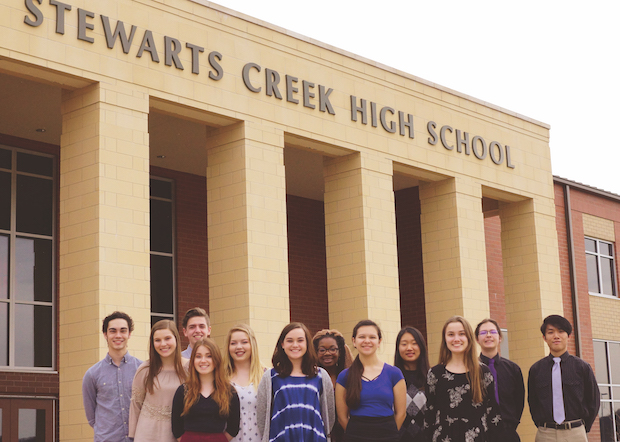 Stewarts Creek 2nd in State in Governor's School Attendees