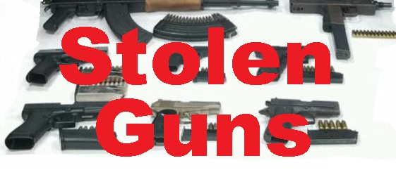 Report What You Feel Might Be STOLEN Guns!