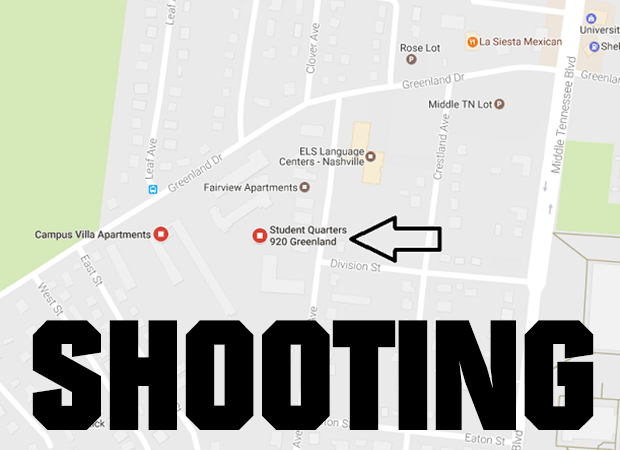 UPDATE: Man Shot & Killed at Student Quarters Apartments