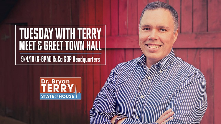 Rep. Terry Hosts Town Hall Sept. 4