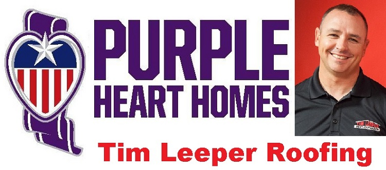 Tim Leeper Roofing Providing Veteran A New Roof