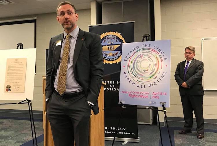 Murfreesboro Event for Crime Victims' Rights Week Honors Victims and Advocates