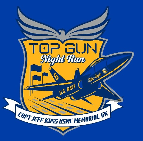 Registration is underway for the Town of Smyrna's Annual Top Gun Night Run 6k benefitting the Captain Jeff Kuss USMC Memorial.