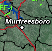 CONFIRMED: Tornado Hits Rutherford County