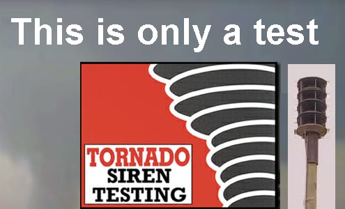 MTSU Tornado Sirens Being Test Monday 11:20AM