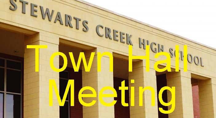 First County Schools' TOWN HALL MEETING Is Monday