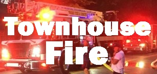 MFRD Responds To Townhouse Fire Monday Night
