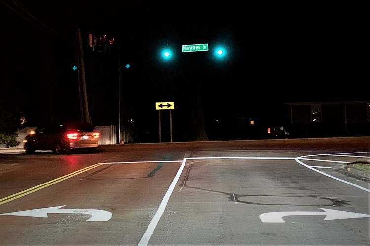 New Haynes at Sulphur Springs Traffic Signal Now Working