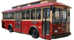 Downtown Trolley in Murfreesboro on Saturday