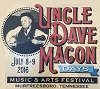 Uncle Dave Macon Days Festival is a Top 20 Event for the South