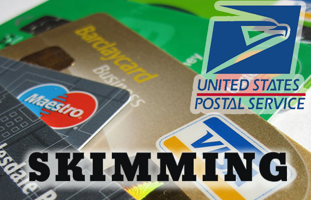 Skimming Crew Targets A Local Post Office