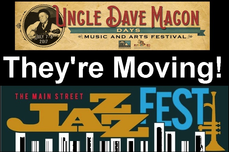 Moving: New Dates for UNCLE DAVE and JAZZFEST
