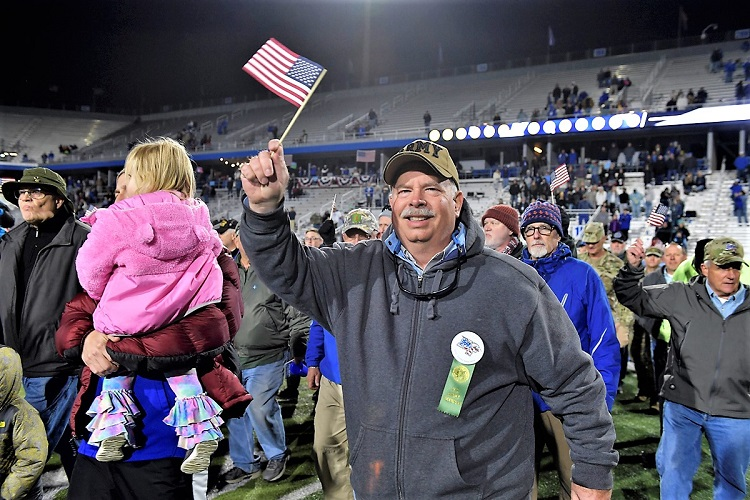 Tradition Continues...MTSU Football Honors Veterans