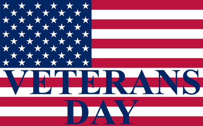 City offices and facilities closing in recognition of Veterans Day Nov. 11