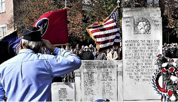 Honor Veterans & TN Arts Grant | veterans, Veterans Day, Murfreesboro, Memorial Service, Parade, WGNS