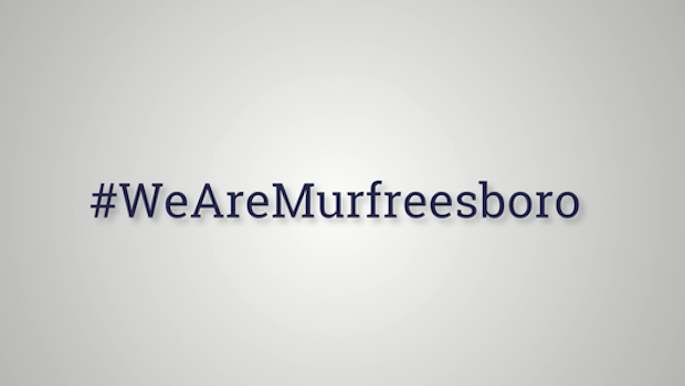 #WeAreMurfreesboro Video Denounces White Lives Matter Rally