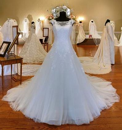 WEDDING DRESS Exhibit Open At Oaklands Mansion