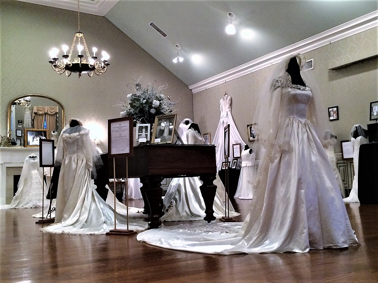 Wedding Dresses at Oaklands Mansion NOW Thru 3/3/19 | Wedding Dresses Through the Decades, Oaklands Mansion, Murfreesboro, WGNS