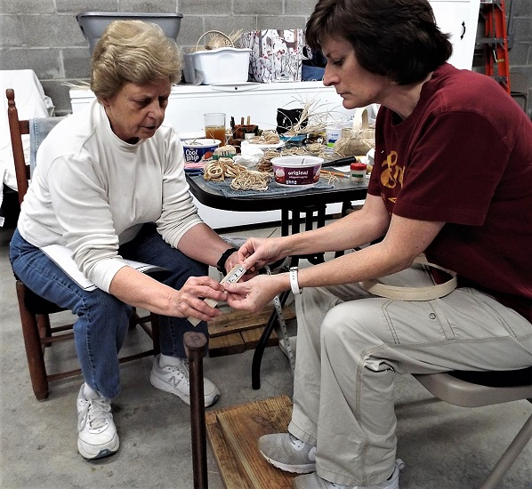 FREE White Oak Basketmaking Demonstration