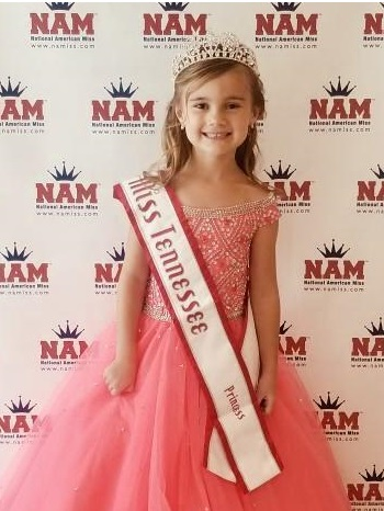 Pageant winner excited to meet Tennessee governor, travel to Los Angeles and visit Disneyland