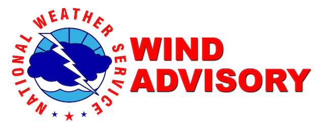NWS: Wind Advisory, Gusts Up to 50 MPH