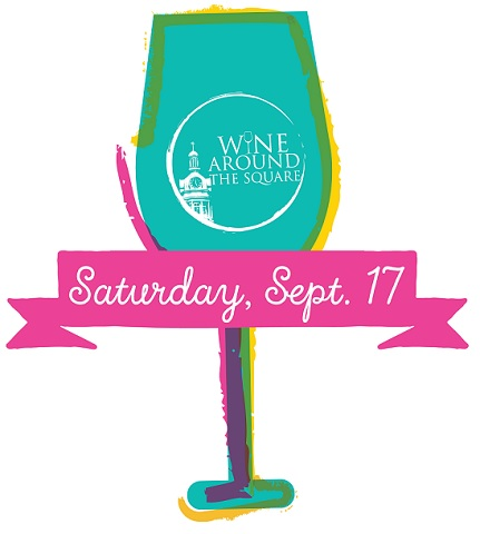 WINE AROUND THE SQUARE 6PM Sept. 17th