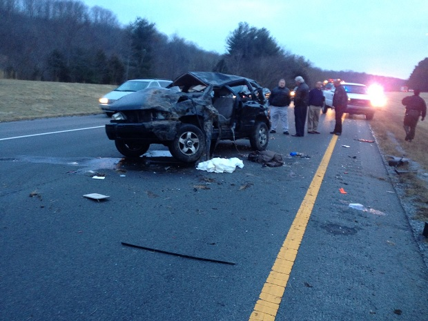 Serious Auto Accident on I-24 - Three Siblings Injured, One