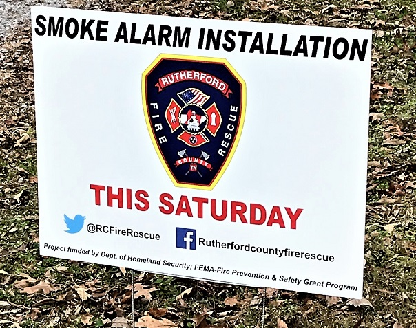 FREE Smoke Alarms Installed This Saturday!