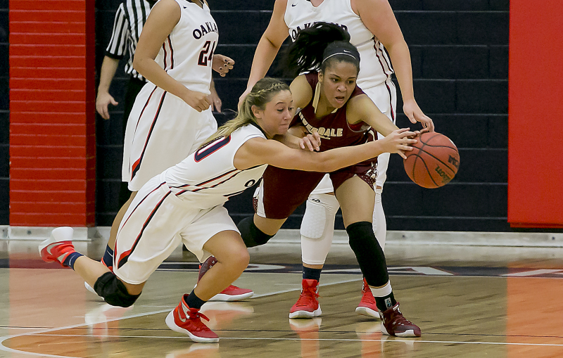 Riverdale girls, Oakland boys win in Battle of the 'Boro
