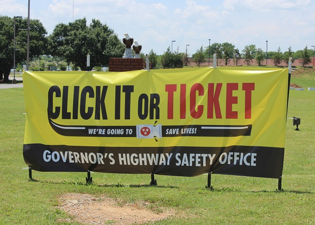 Click It or Ticket Campaign in Rutherford County