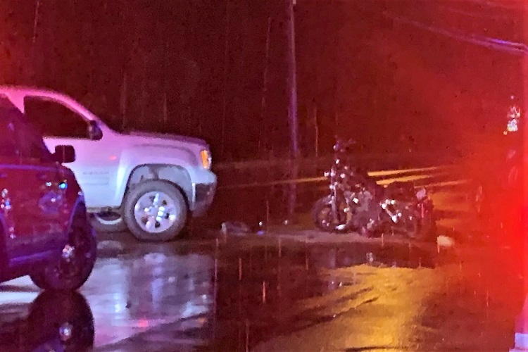 UPDATE: FATAL Motorcycle vs Pickup Crash Saturday Night