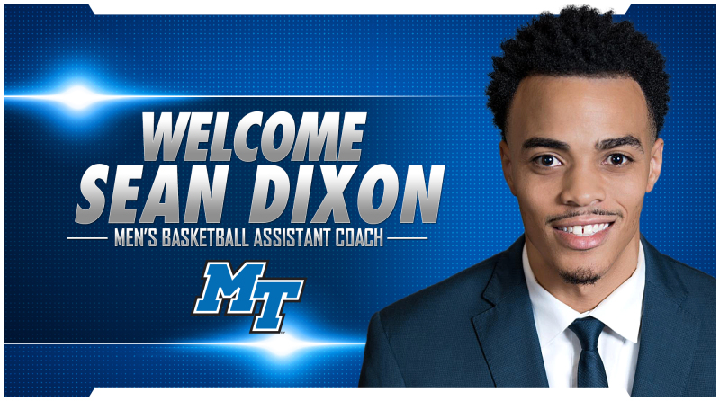 Dixon tabbed as first addition to men's hoops staff